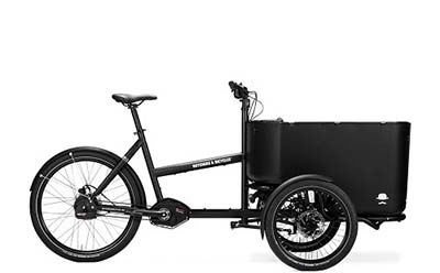 Butchers & Bicycles MK1-E bakfiets lease je bij Hellorider