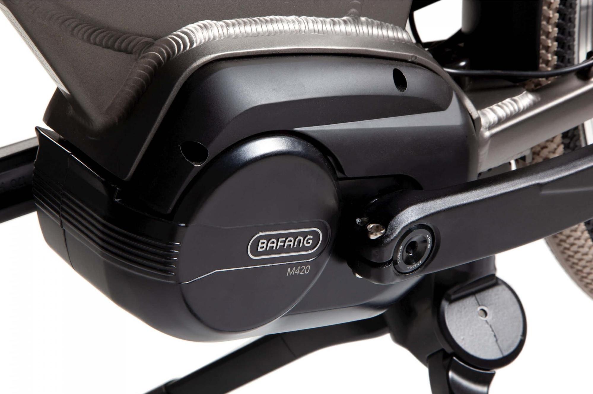 Bafang middenmotor van de Cortina E-common Family