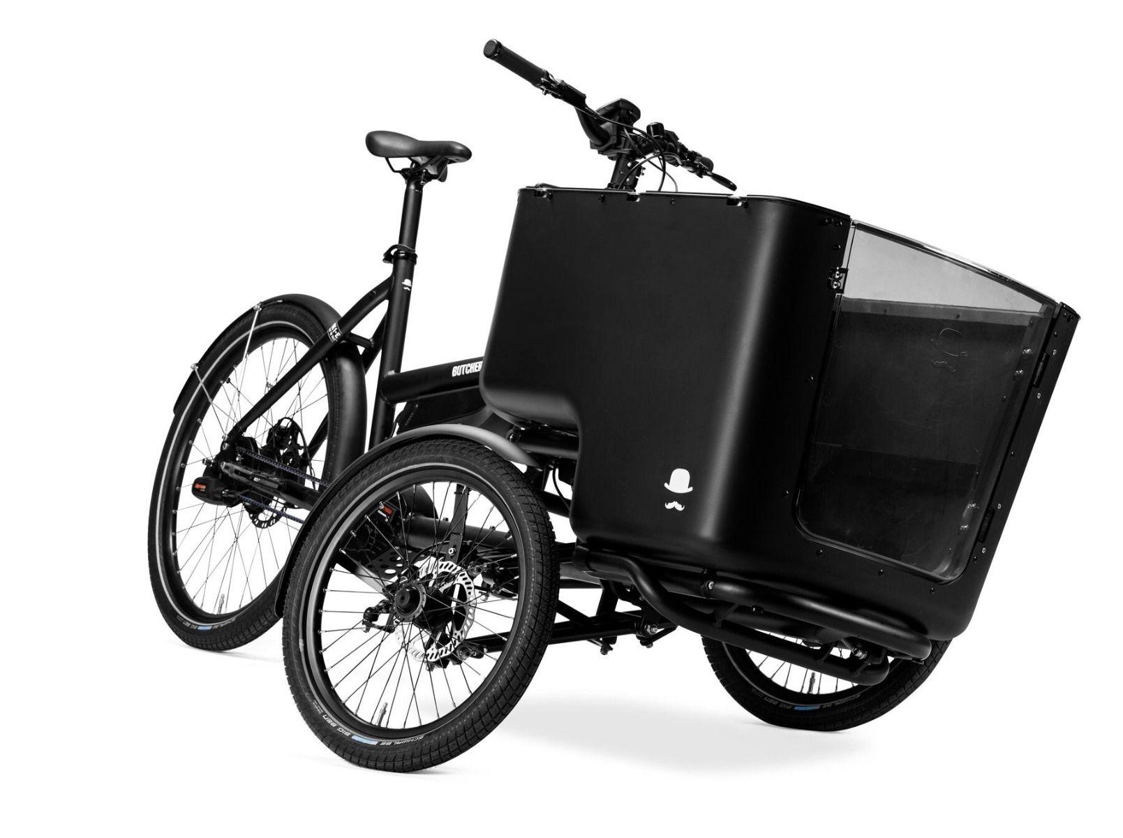 Voorkant van de Butchers & Bicycles MK1-E