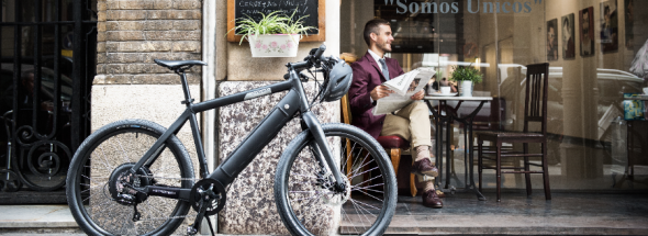 fiets van de zaak maakt gezond en vitaal