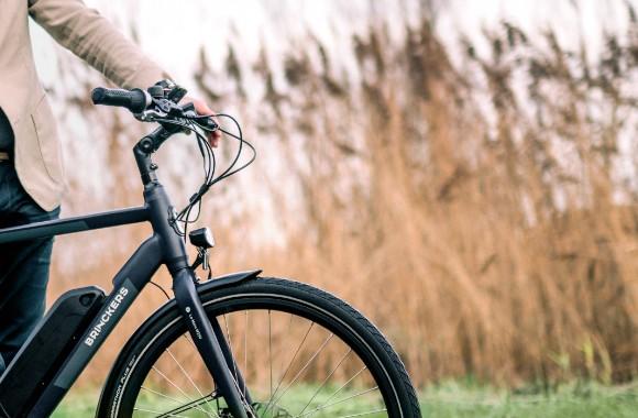 Duurzaam op de fiets van de zaak
