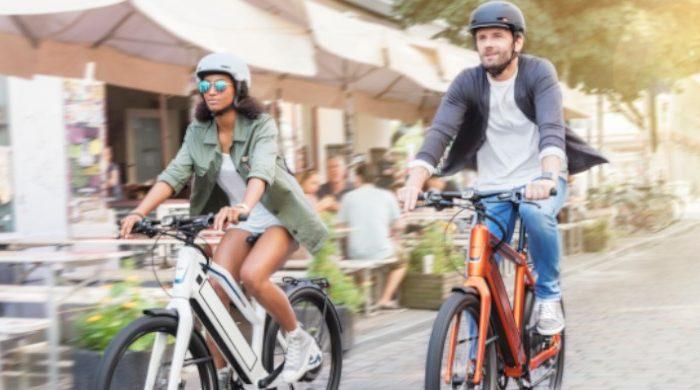 Jaar van de vitaliteit op een e-bike